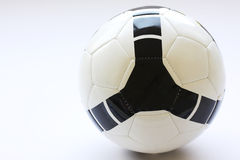 Soccer ball. Isolated on a white background Stock Image