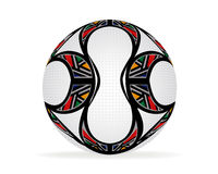 Soccer Ball. Football illustration and world cup concept Royalty Free Stock Image