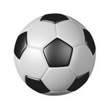 Soccer ball. 3d soccer ball isolated on white Royalty Free Stock Photography