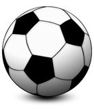 Soccer Ball. A Soccer Ball for South Africa 2010 Royalty Free Stock Images