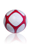 Soccer ball. Isolated on the white background Royalty Free Stock Photos