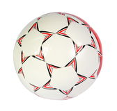 Soccer ball. On the white background. (isolated Royalty Free Stock Photo