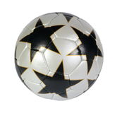 Soccer ball. On the white background. (isolated royalty free stock photography