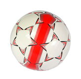 Soccer ball. On the white background. (isolated royalty free stock photos