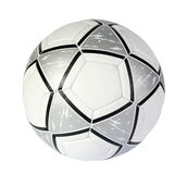 Soccer ball. On the white background. (isolated Royalty Free Stock Images