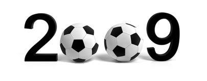 Soccer ball 2009 Stock Photo