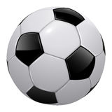Soccer ball. Football isolated, realistic vector illustration Royalty Free Stock Photos
