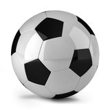 Soccer ball. Over white background Stock Illustration
