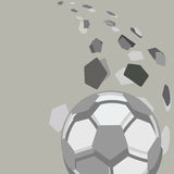 Soccer  ball. Royalty Free Stock Photography