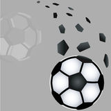Soccer  ball. Stock Photo
