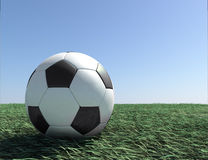 Soccer ball 3d Stock Photos