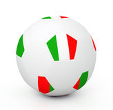 Soccer Ball (3D Illustration) Stock Image
