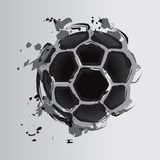 Soccer ball 4. Vector Drawing Royalty Free Illustration