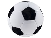 Soccer Ball. Isolated Picture of a soccer ball Shot with a Fuji FinePix S5100 At native resolution of 2272X1704 and has not been upsampled stock photography
