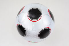 Soccer Ball. UEFA Championship soccerball on white background, not isolated stock photography