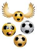 Soccer Ball. Vector images of soccer ball Stock Image
