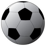 Soccer ball. Vector illustration of a soccer ball royalty free illustration
