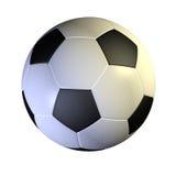 Soccer ball. 3d render of Soccer ball on white Royalty Free Illustration