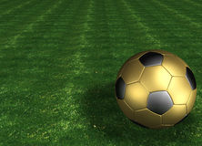 Soccer ball. 3d render Royalty Free Stock Photography