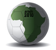 Soccer Ball Africa 2010. Drawing Stock Images