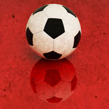 Soccer ball background Stock Image