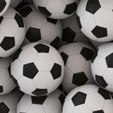 Soccer Ball Background Royalty Free Stock Image