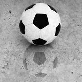 Soccer ball background old. Fine image of soccer ball background Stock Images