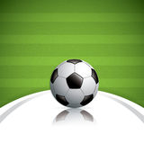 Soccer ball background Royalty Free Stock Photography