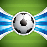 Soccer ball background Royalty Free Stock Images