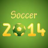Soccer ball background. Sport vector Stock Photo