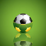Soccer ball background. Royalty Free Stock Image