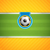 Soccer ball background. Sport vector Royalty Free Stock Images