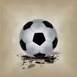 Soccer ball background Stock Images