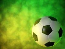 Soccer ball background Stock Photos