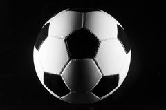 Soccer ball black and white Stock Photos