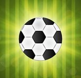 Soccer ball. Brazil world cup football 2014. Royalty Free Stock Image