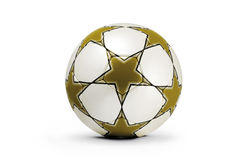 Soccer ball, champions cup Stock Photo