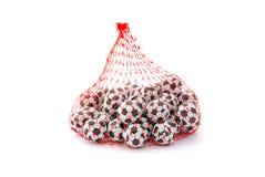 Soccer ball chocolates Royalty Free Stock Photography