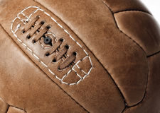 Soccer ball closeup Royalty Free Stock Images