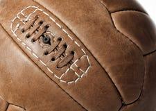 Soccer ball closeup Royalty Free Stock Images