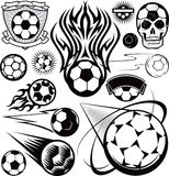 Soccer Ball Collection Royalty Free Stock Images