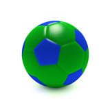 Soccer Ball. Colorful soccer ball on a white background royalty free illustration