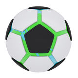 Soccer ball consisting of unconnected parts. Isolated render on a white background Stock Photography