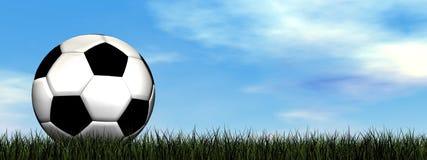 Soccer ball - 3D render Stock Photos