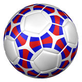 Soccer ball. 3D rendering. Soccer ball,  on white background. 3D rendering Stock Photo