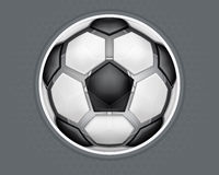 Soccer Ball Design 1_CS5 Royalty Free Stock Images