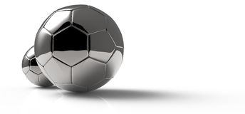 Soccer ball detail Royalty Free Stock Image