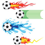 Soccer Ball Elements Royalty Free Stock Image