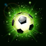 Soccer ball explosion Stock Photos