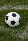 Soccer Ball on Field royalty free stock images